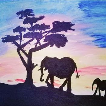 Elephantes by MsWritten