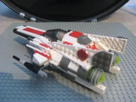 Lego Modified A-Wing Interceptor 2 by InDeepSchit