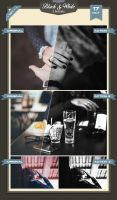 Black - White Photoshop Actions by baturaN