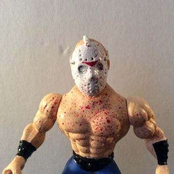 MONSTERS OF THE UNIVERSE SPLATTERHOUSE JASON by GoobleGobbleStudios