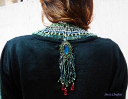 Egyptian Collar by mariachughtai