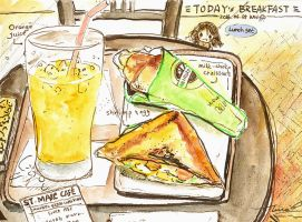 #daily061 Today's Breakfast (13) by tinashan