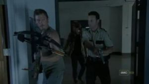 Daryl Dixon and Rick grimes by ForsakenGrave89