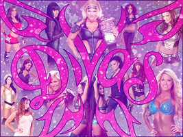 WWE Divas 2012 Roster Desktop Wallpaper by nero-forever