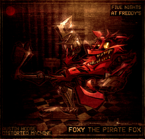Foxy the Pirate Fox by Austin-Hodge