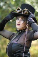 Goth Shoot - The Look by tarorae