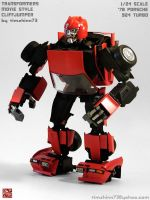 TF Movie Style G1 Cliffjumper by timshinn73