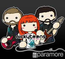 Paramore NOW by NickyToons