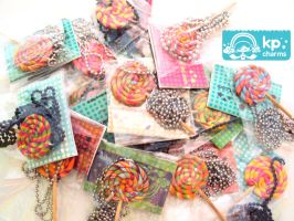 Lollipops ready for sale by KPcharms