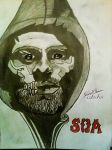 Sons Of Anarchy Season 7 Poster Jax Teller- J.T by SkoobyForever