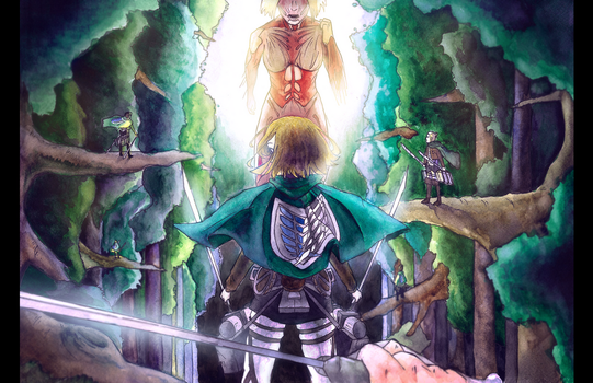 Attack on Titan by MissisSmith