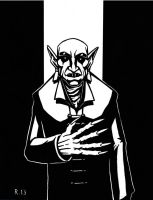 Count Orlok from Nosferatu by TheRigger