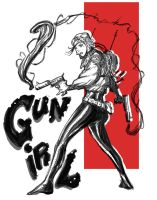 GUN GIRL by yjianlong