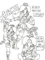 Robot Master Daisy by AngelMaria89