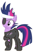 Future Twilight Sparkle Vector by jourple