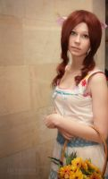 Crisis Core Final Fantasy VII. Aerith by AshreiMEW