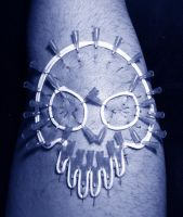 Play piercing corset (Skull) .4 by TheChristOff