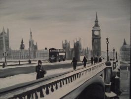 Winter in London by Dolewhip