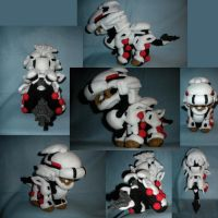 Liger Zero Standard Plushie by WhittyKitty