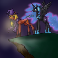 Overlooking Nightmare by JitterbugJive