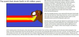 The event that shook the Earth in 65 million years by Dinossword