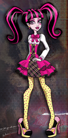 Draculaura School's Out by Flooks