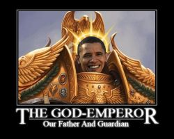 God Emperor of Mankind 2009 by HellbirdIV