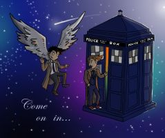 Superwho: Come On In... by blackbirdrose