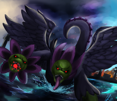 Wrath of Hydreigon by Phatmon