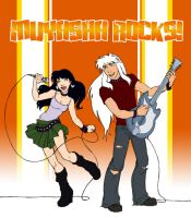 Inuyasha Rocks by QueenOfTheCute