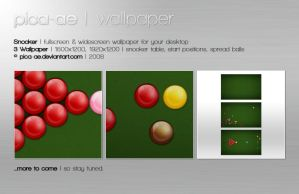 Snooker Wallpaper by pica-ae