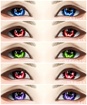 IMVU - FREE! Iwatobi Swim Club Eyes. by Yeorim