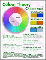 Colour Theory Cheatsheet by hjhornbeck