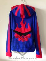 Gurren Lagann Fleece Cosplay Hoodie by Weeaboo-Warehouse