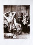 litography-Balthus by suclukalem