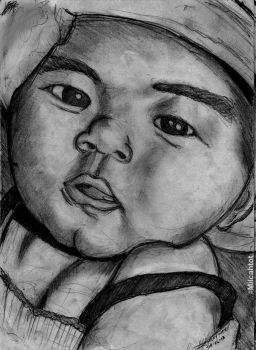 Sketch of My Niece's Picture :) by MilcahToT