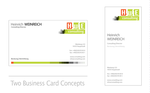 Logo + Business Card Concepts by Pattulus