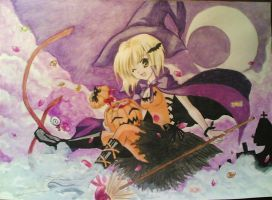 Halloween Witch by giulal