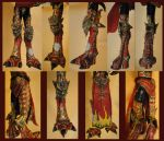 Mandarin Spawn Figurine feet by ShinjusWorkshop