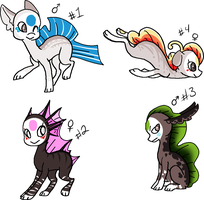 Finnedyr adoptables 1 (closed) by HollieBiscuit