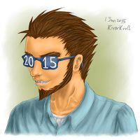 2015 glasses by RiverKpocc