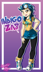 Commission: Indigo Zap by DANMAKUMAN