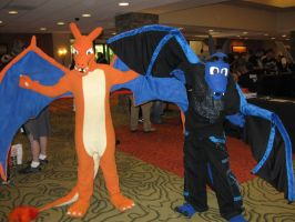 Skaros and Charizard NDK 2010 by Leap207