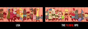 LISA: The Painful RPG - Dual Wallpaper - 3840x1080 by CabbageCanFly