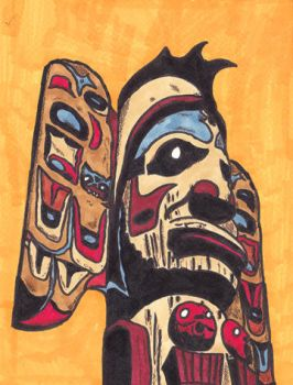 TOTEM ALIVENESS by PhotocoyoteArt