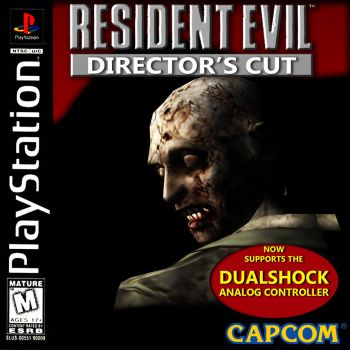 RE 20th Anniversery -Resident Evil DC Cover Remade by REFanBoy2012