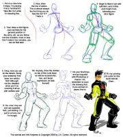 Basic Figure Drawing Tutorial by JYC