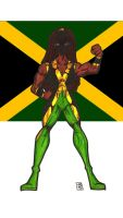 Miss Jamaica flag by RWhitney75
