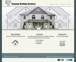 Graymar Drafting Website Concept 5-29-13 by fireproofgfx