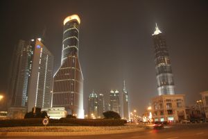Shanghai at Night 3 by NocturnalHouse